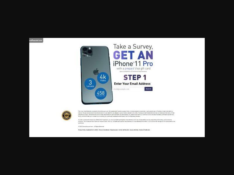 Win an iPhone 11 - SOI (US)