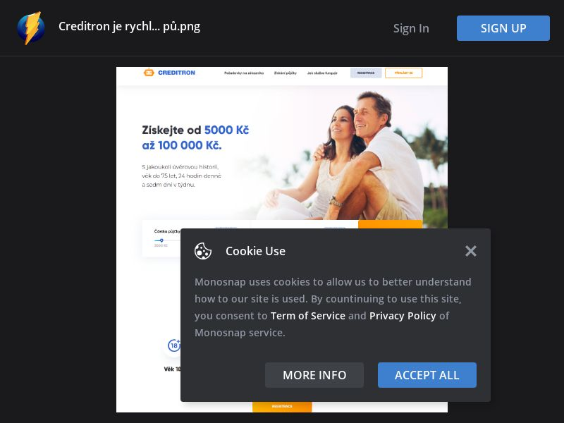 Czech Republic (CZ) - Creditron - Receive Up To 100.000kč (Responsive)