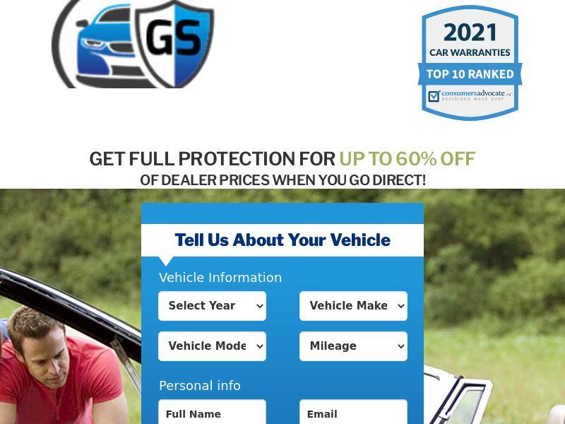 Goodstone Auto Warranty (No Weekend Drops) (US) (CPL) (Personal Approval)