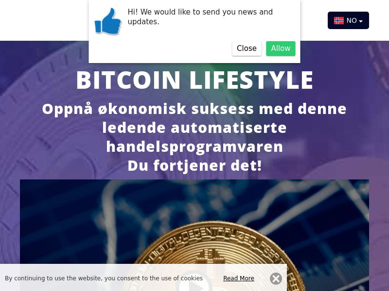 Bitcoin lifestyle Norwegian 3870