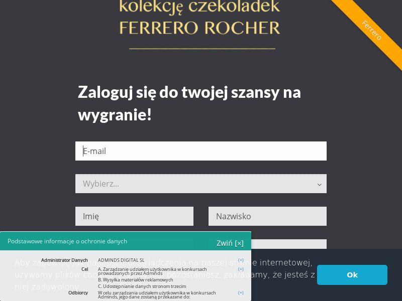 Kosz prezentowy Ferrero - PL (PL), [CPL]