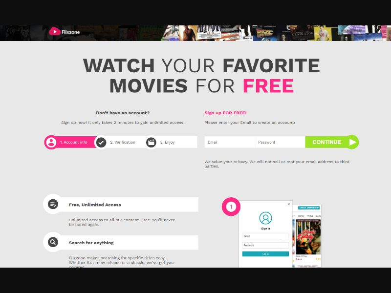 Moviez4me - VOD Signup (CA) (Trial) (Personal Approval)