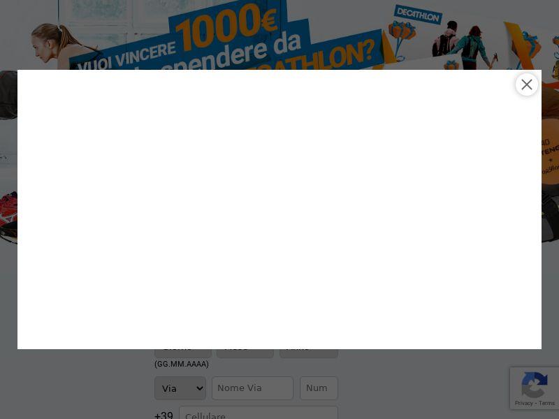 Decathlon - CPL SOI - sweepstakes - IT