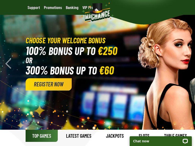 MaChance - Casino - LATAM , ES, CA, BE, CH, FR, IT, IE, NL - (CPA)