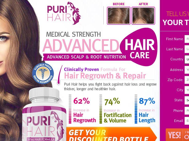 Puri Hair - Trial US (Female LP)