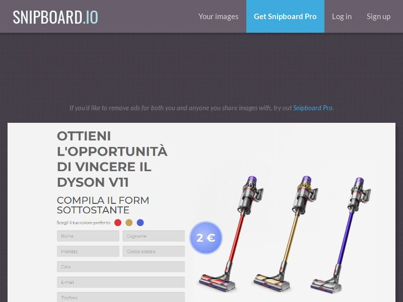 42027 - IT - BigEntry - Dyson v11 Vacuum Cleaner v1 - CC submit