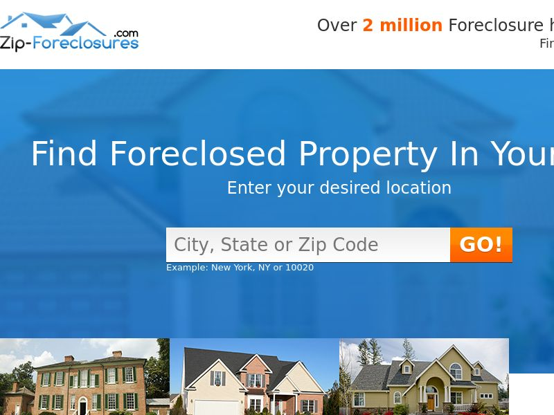 Find Foreclosures (Display Traffic)