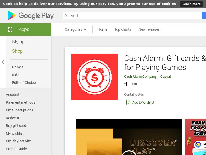 Cash Alarm Android CPE - US