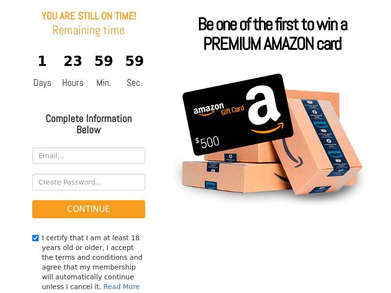 2843 Amazon voucher CCSubmit US
