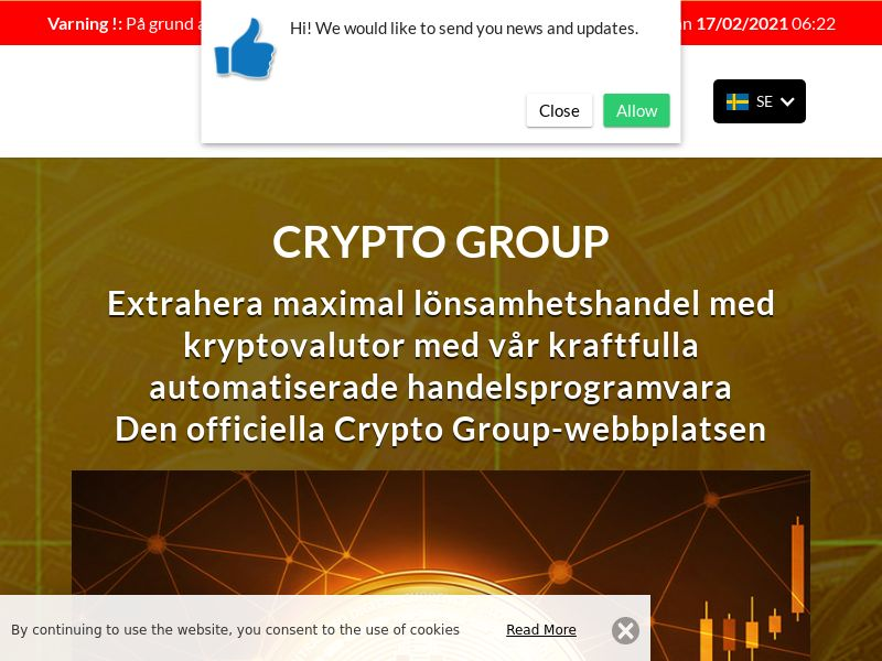 The Crypto Group Swedish 3112