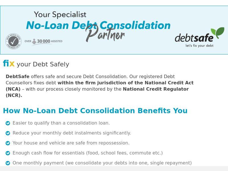 DebtSafe (ZA) (CPL)