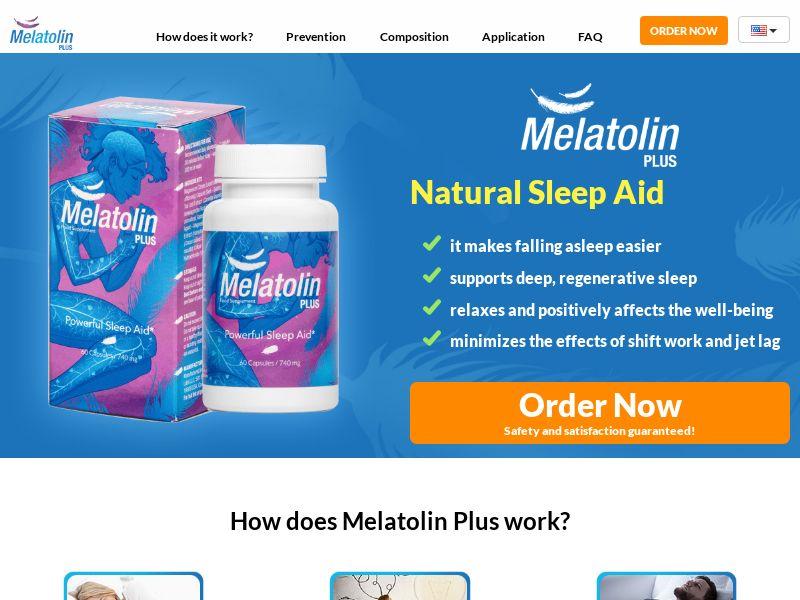Melatolin Plus - SS - [GB]