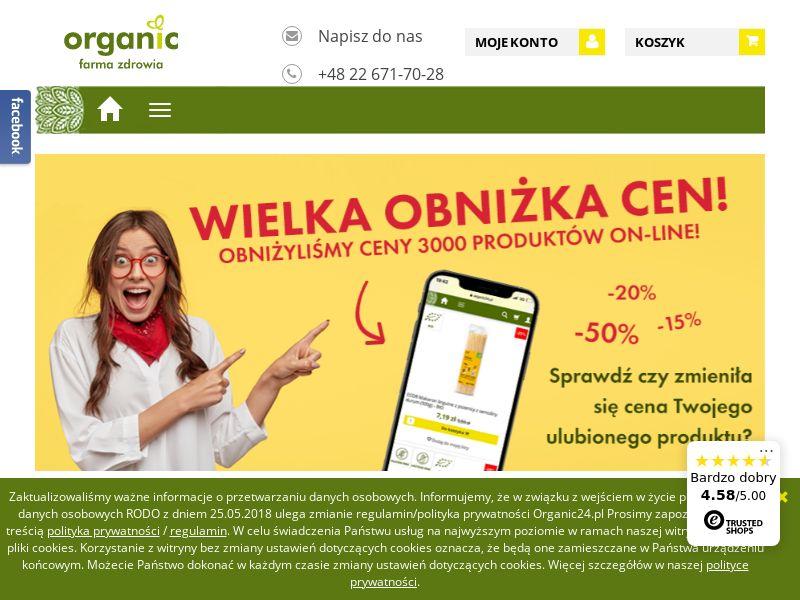 Organic Farma Zdrowia (PL), [CPS], Health and Beauty, Cosmetics, Food, Sell, coronavirus, corona, virus, keto, diet, weight, fitness, face mask