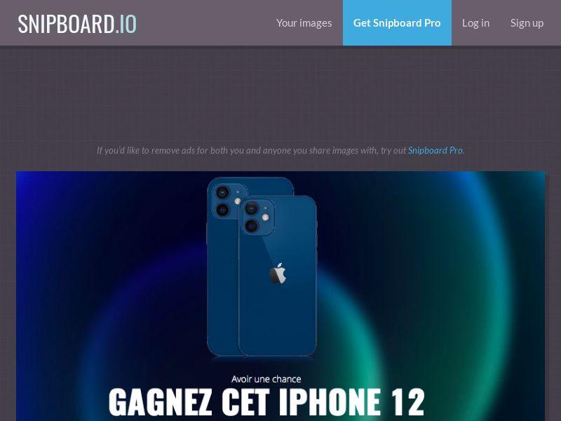 LeadMarket - iPhone 12 FR - SOI