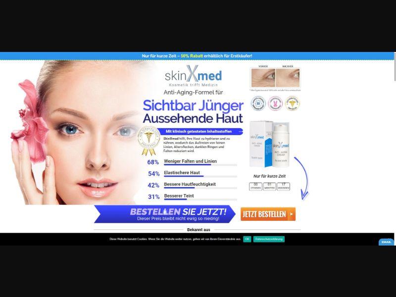 SkinXmed Anti Aging Cream - Skin Care - SS - [DE, AT, CH]