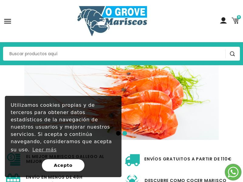 Mariscos O Grove - ES (ES), [CPS], Health and Beauty, Food, Sell, coronavirus, corona, virus, keto, diet, weight, fitness, face mask