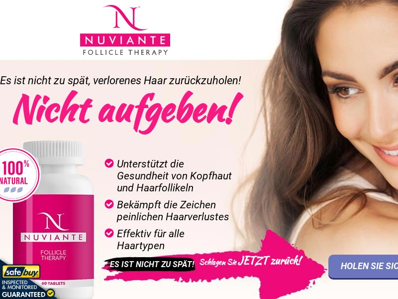 Nuviante: Follicle Therapy Step2 - GERMAN - (Hair)