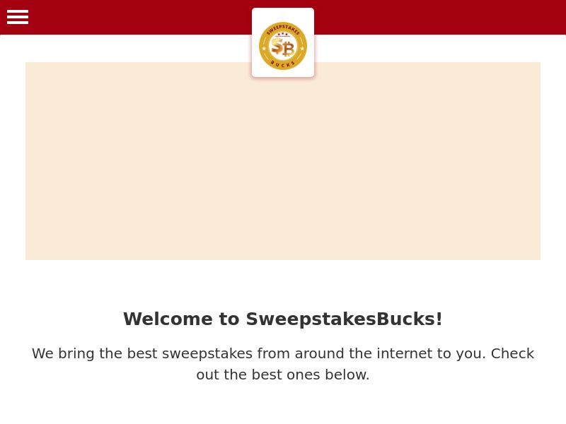 Sweepstakes Bucks - US
