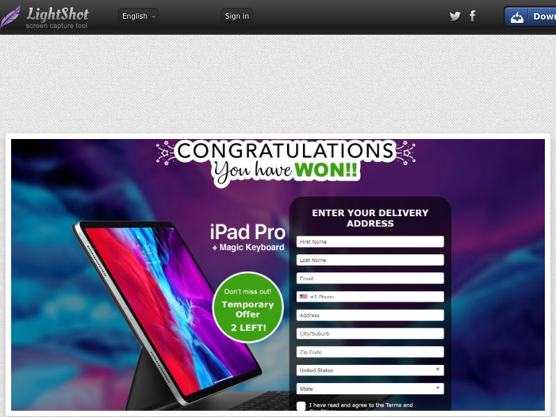 AbsoluteWinner - iPad Pro + Magic Keyboard (Dark Rainbow) (US) (Trial) (Personal Approval)