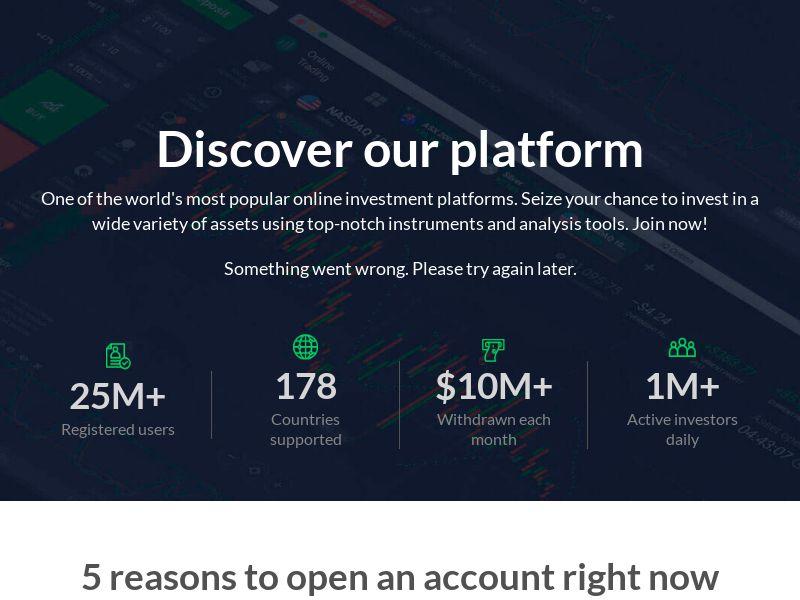 Discover our platform: Forex Trafing Platform - CPA - Desktop & Mobile [EN]