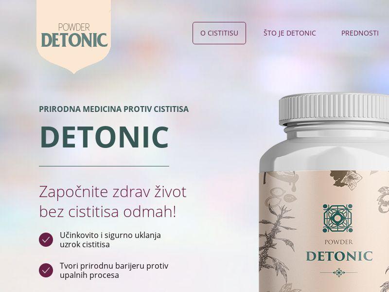 Detonic RS (cystitis)
