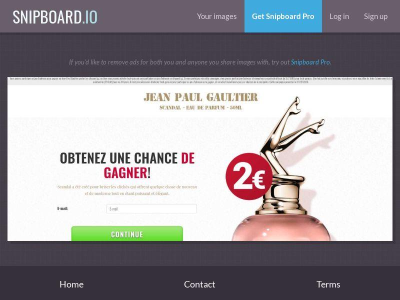39443 - FR - BigEntry - Jean Paul Gaultier - CC submit