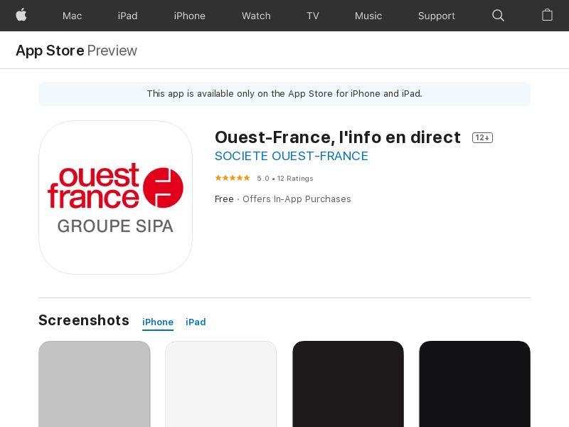 Ouest-France - iOS - FR