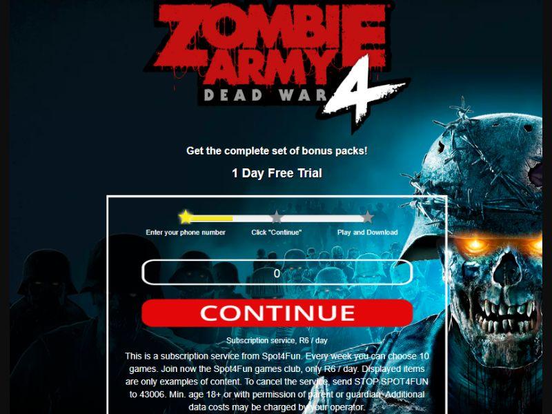 Zombie Army 4: Dead War (ZA)