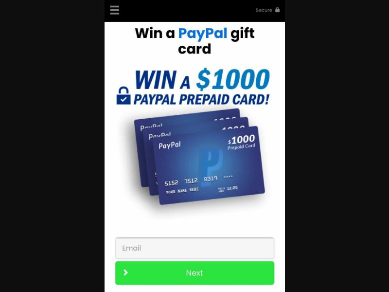 Win a Gift Card [US] - SOI registration