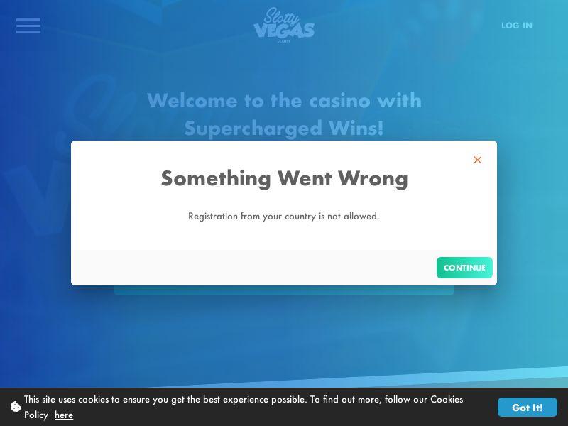Slotty Vegas - FB+Apps -Reg page - NL