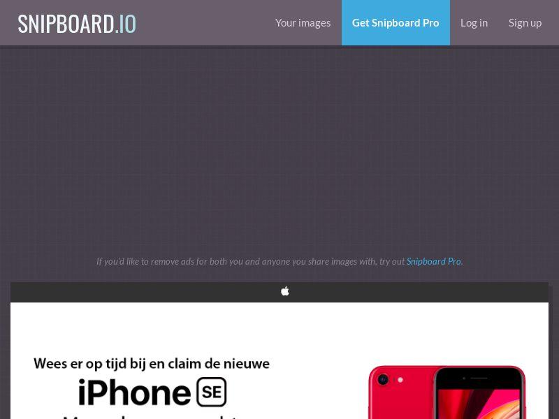 NectarContests - iPhone SE NL - SOI