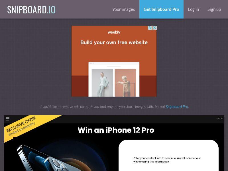 YouSweeps - iPhone 12 Pro AU - SOI