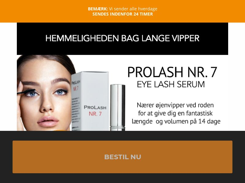 EyeLash Serum [DK] (Email,Social,Banner,Native,Push,SEO,Search) - CPA