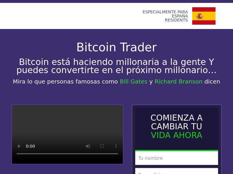 Bitcoin trader CPA LATAM