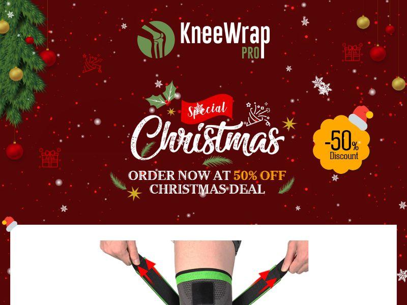 KneeWrap - Professional Knee Bandage - CPA - Special Xmas LP - [INTERNATIONAL]