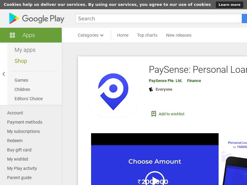 Paysense AND IN CPA