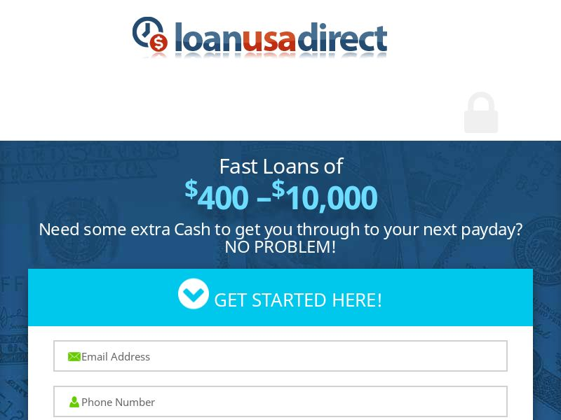 Loan USA Direct - First Page - CPL - US