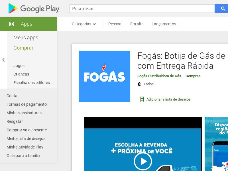 Fogas Android BR (City Targeting) (deviceid)