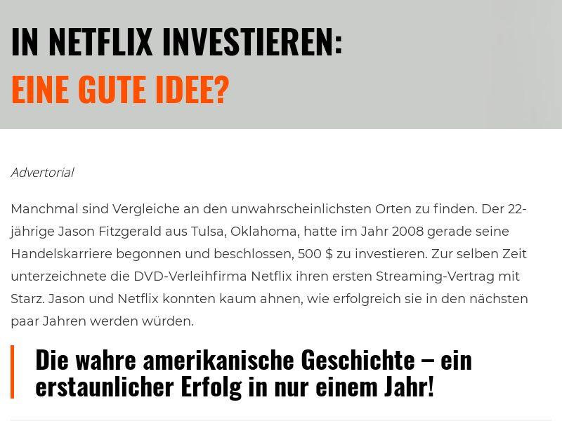 Netflix Revolution CPA DE🇩🇪