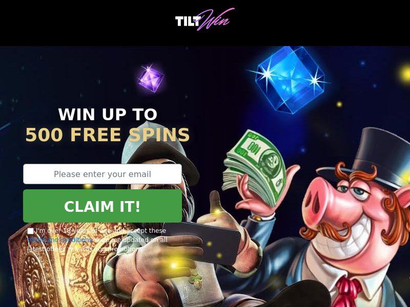 TiltWin Casino CA SOI