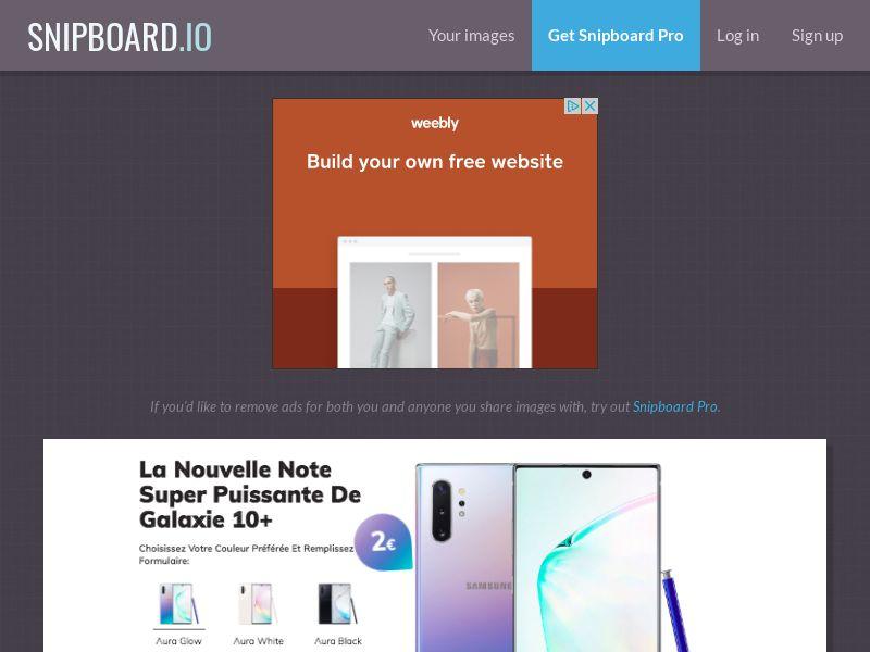 BigEntry - Samsung Note 10 Plus v1 FR - CC Submit