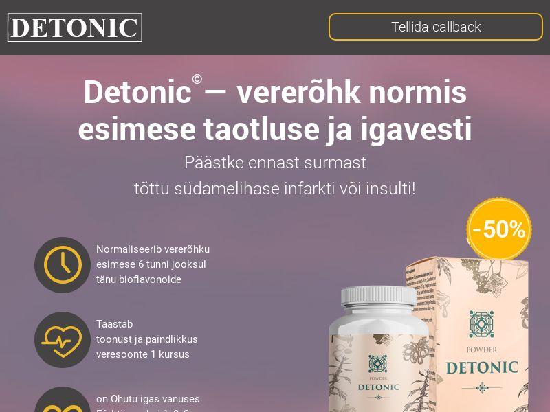 Detonic EE (hypertension)