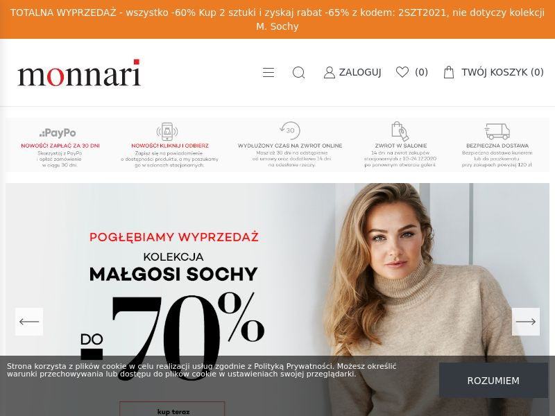 Monnari - PL (PL), [CPS], Fashion, Clothes, Shoes, Accessories and additions, Accessories, Jewelry, Presents, Sell, shop, gift