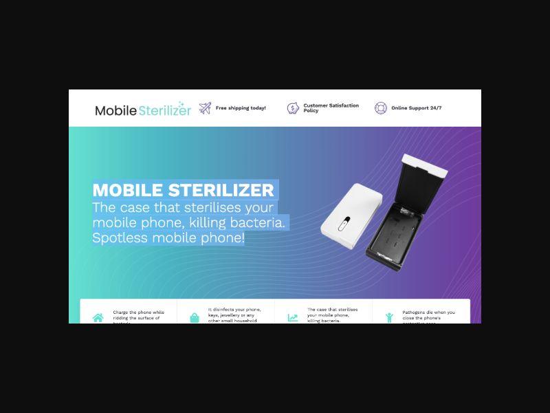 Mobile Phone Sterilizer - E-Com Product