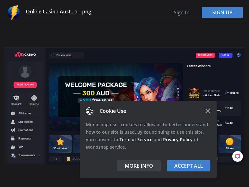 Australia (AU) - Woo Casino (Responsive)