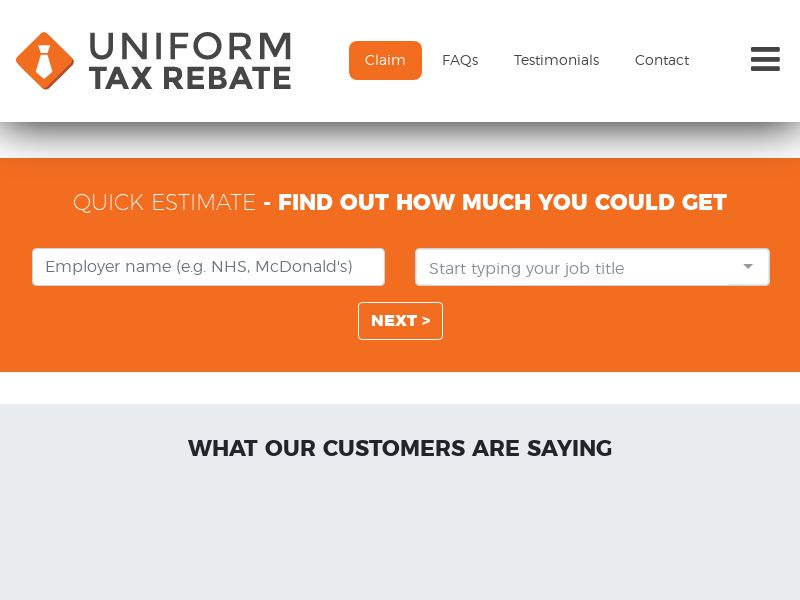 Uniform Tax Rebates (UK) (CPL) (Personal Approval)