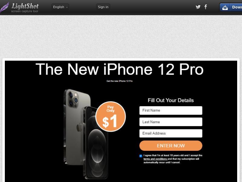 Socialmediago - iPhone 12 Pro (IT) (Trial) (Personal Approval)