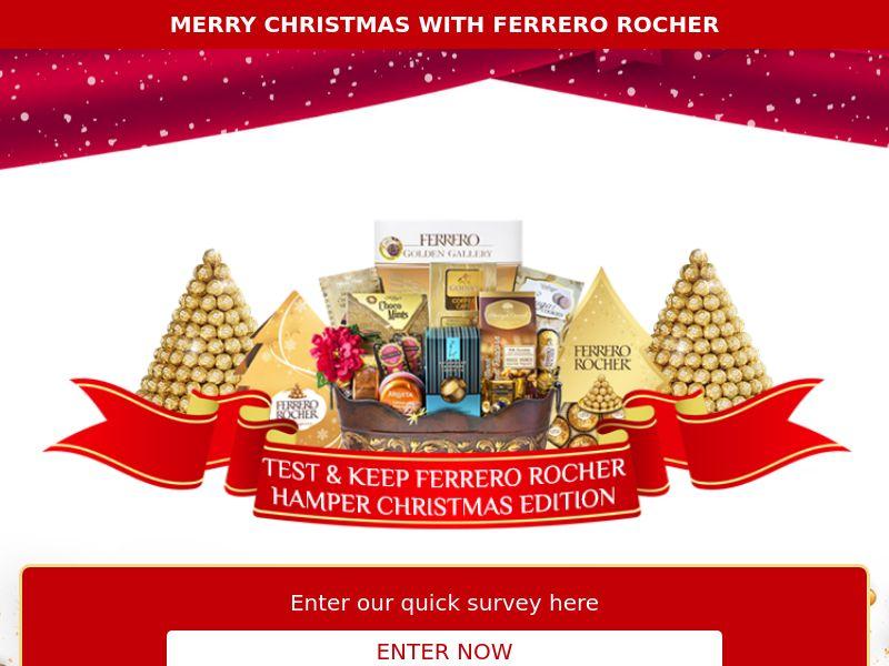 11405) [WEB+WAP] Ferrero Rocher Hamper - SG - CPL