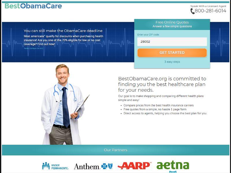 Best Obama Care - Insurance [US] - SOI registration