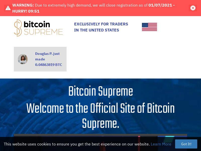 Bitcoin Supreme - Smartlink - 57 Countries